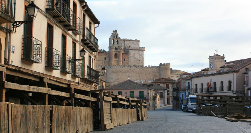 Plaza Mayor Turegano